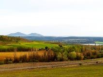 Paysage agricole sur l'Espagne image libre de droits