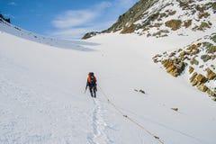 Paysage alpin étonnant Photo stock