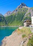 Paysage alpin Photo stock
