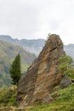 Paysage alpin idyllique chez l'Autriche Photo stock
