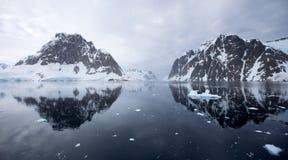 Paysage antarctique Photographie stock
