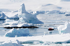 Paysage antarctique Photos stock