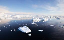 Paysage antarctique Photo libre de droits