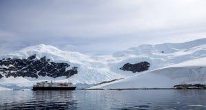 Paysage antarctique Images stock