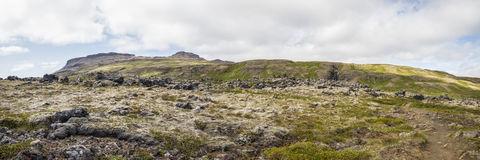 Paysage approximatif en Islande Photo libre de droits