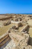 Paysage archéologique de parc de Paphos Photographie stock