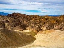 Paysage aride de collines - Death Valley images stock