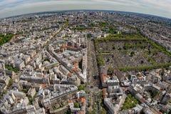 Paysage a rien de vue de ville de b timent de paris de for Piscine montparnasse