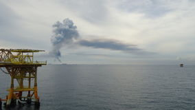 Paysage artificiel de mer Photographie stock libre de droits