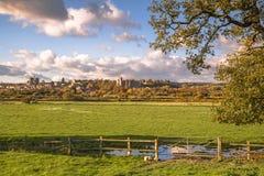 Paysage Arundel, le Sussex occidental, Angleterre photos libres de droits