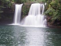 Paysage Asie de cascade Photo libre de droits