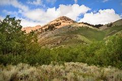 Paysage au-dessus de la colline, Etats-Unis Image libre de droits