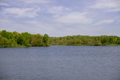 Paysage au printemps au parc image stock