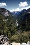 Paysage au stationnement national de Yosemite Photo libre de droits
