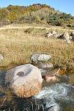 Paysage automnal de montagne Photographie stock libre de droits