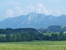 Paysage autour de Mondsee, Salzburgerland image libre de droits