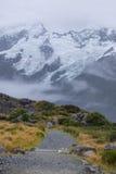 Paysage autour de Mt Parc national de cuisinier/Aoraki, Nouvelle-Zélande Photographie stock libre de droits