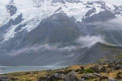 Paysage autour de Mt Parc national de cuisinier/Aoraki, Nouvelle-Zélande Images stock