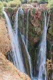 Paysage autour du l'EL-Ouidane de poubelle de barrage Photo stock