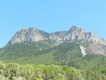 Paysage av berget Arkivbilder