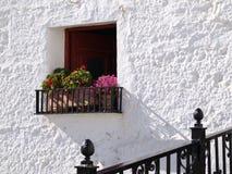 paysage avec la fenêtre Photographie stock