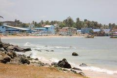 Paysage avec la mer Images libres de droits
