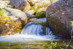 Paysage avec la rivière Photos libres de droits
