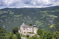 Paysage avec le château Photo stock