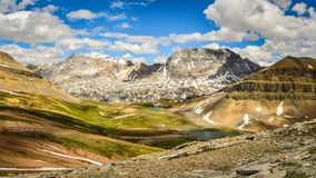 Paysage Banff Alberta de montagne Photos stock