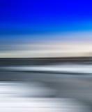 Paysage brouillé par résumé arctique simple vif vertical Photo libre de droits