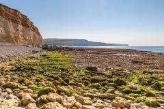 Paysage côtier du Sussex images libres de droits