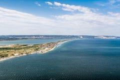 Paysage côtier à Marseille Photo stock