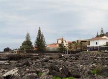 Paysage Caloura, Agua De Pau Images libres de droits