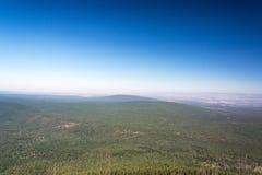 Paysage central et ciel de l'Orégon photographie stock