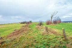 Paysage chez l'Oudemirdumer Klif photo libre de droits