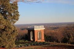 Paysage chez Monticello Images libres de droits