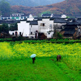 Paysage chinois Photographie stock libre de droits