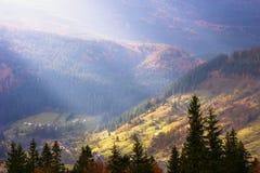 Paysage coloré dans les montagnes, voyage de l'Europe, monde de beauté Photos libres de droits