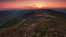 Paysage coloré dans les montagnes, voyage de l'Europe, monde de beauté Photos stock