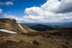 Paysage coloré dans les montagnes, voyage de l'Europe, monde de beauté Photo libre de droits