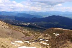 Paysage coloré dans les montagnes, voyage de l'Europe, monde de beauté Images libres de droits