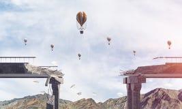 Paysage coloré de montagne d'été Photo stock