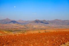 Paysage coloré du Lesotho Images stock
