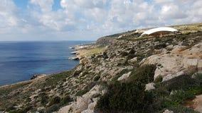 Paysage costal de Malte Image libre de droits
