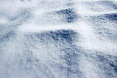 Paysage couvert de neige de fond Image stock