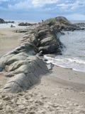 Paysage criqué de roche Photo stock
