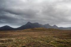 Paysage désolé de montagnes photos libres de droits