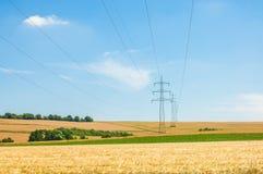 Paysage d'énergie Photos libres de droits