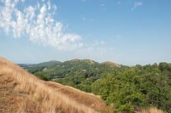 Paysage d'été dans les collines de Malvern photographie stock