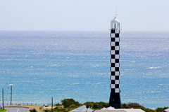 Paysage d'été de phare dans l'Australie de Bunbury image libre de droits